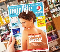 Das Apotheken-Kundenmagazin ist seit April 2019 auf dem Markt (Foto: Hubert Burda Media)