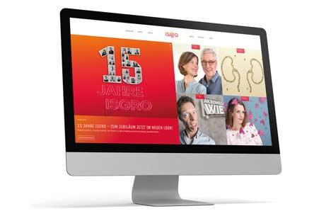 Zum Agenturjubiläum zeigt sich Isgro mit einem neuen Internetauftritt (Foto: Isgro)