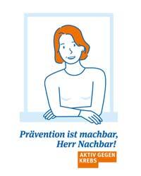 Keyvisual der ersten Nationalen Krebspräventionswoche (Foto: Deutsche Krebshilfe)