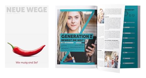Das Pharma-Magazin 'Neue Wege' erscheint künftig zweimonatlich (Foto: Gehe Pharma Handel GmbH)