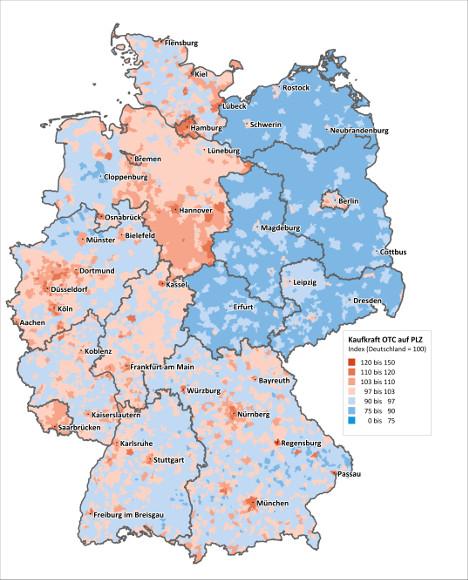 Regensburg Hannover Und Munchen Haben Die Hochste Otc