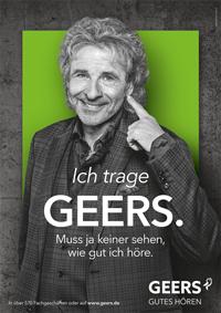 Aktuelles Werbemotiv mit Showmaster Thomas Gottschalk von der Hamburger Agentur Schipper Company (Foto: Sonova)