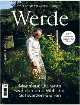 'Werde' erscheint seit Mai 2013 im Zeitschriftenhandel