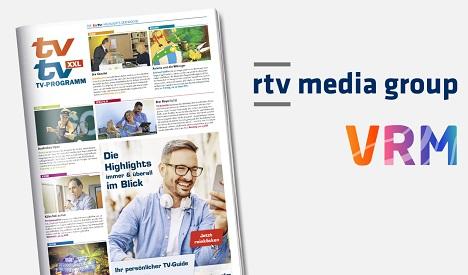 Die rtv media group peilt bis Frühjahr 2020 eine Gesamtauflage seiner TV-Supplements von über sechs Millionen Exemplaren an (Foto: rtv media group)